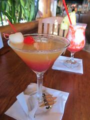 Drinks at Duke's Barefoot Bar