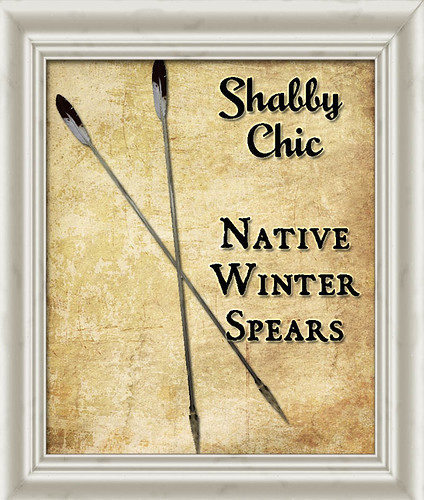 Shabby Chic Native Winter Spears by Shabby Chics