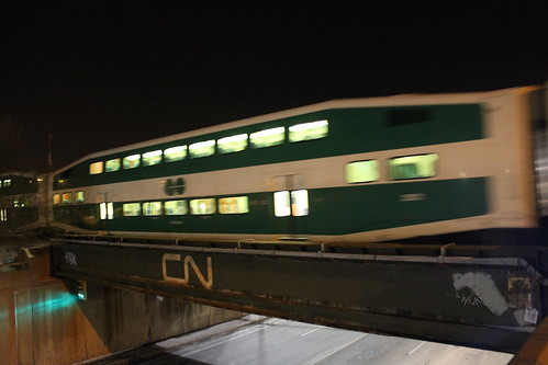 CN Bridge and Guelph GO Train by Royal_Rivers