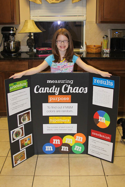 candy science fair project