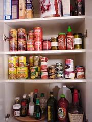 shelving(1.0), shelf(1.0), room(1.0), bottle(1.0), pantry(1.0),