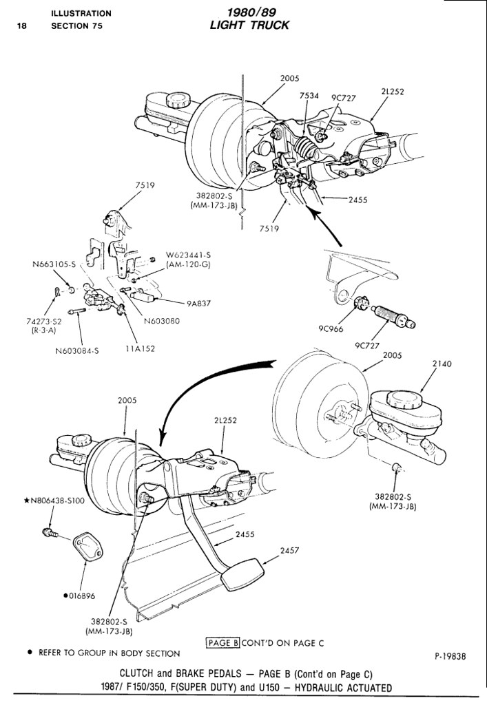 4spd manual trans f150 4x4 300-6