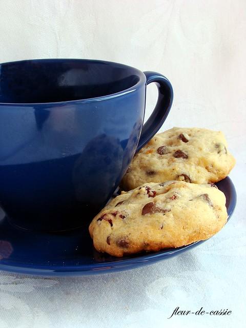 печенье с шоколадными каплями 3