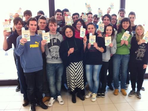 Professoressa Spolaor e classe 5C - Istituto Tecnico Agrario Statale A. Trentin