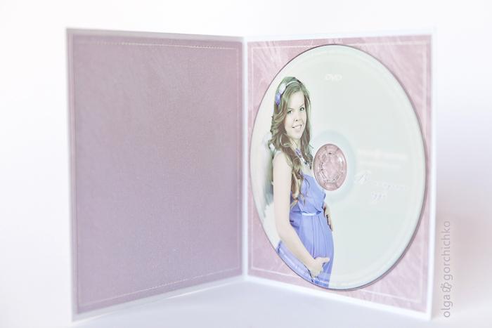 Скрап-конверт для фотосессии беременности