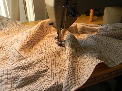 stitching.. by Danny W. Mansmith