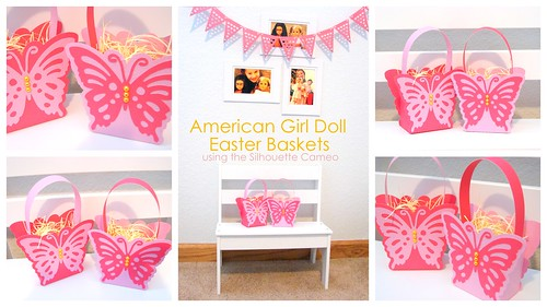 American Girl Doll Easter Baskets