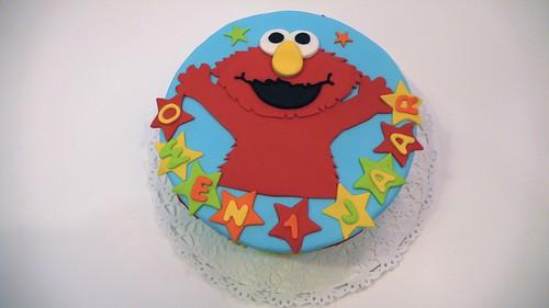 Elmo 1st Birthday Cake by CAKE Amsterdam - Cakes by ZOBOT