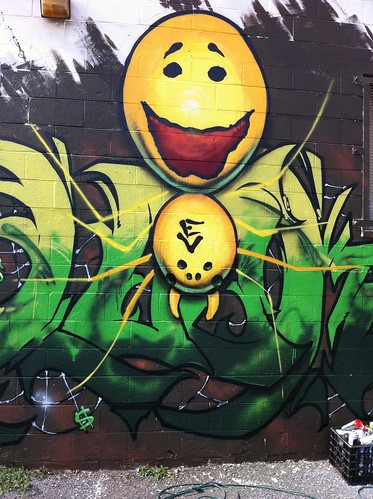 Happy Face Spider courtesy of Pow Wow Hawaii 2012