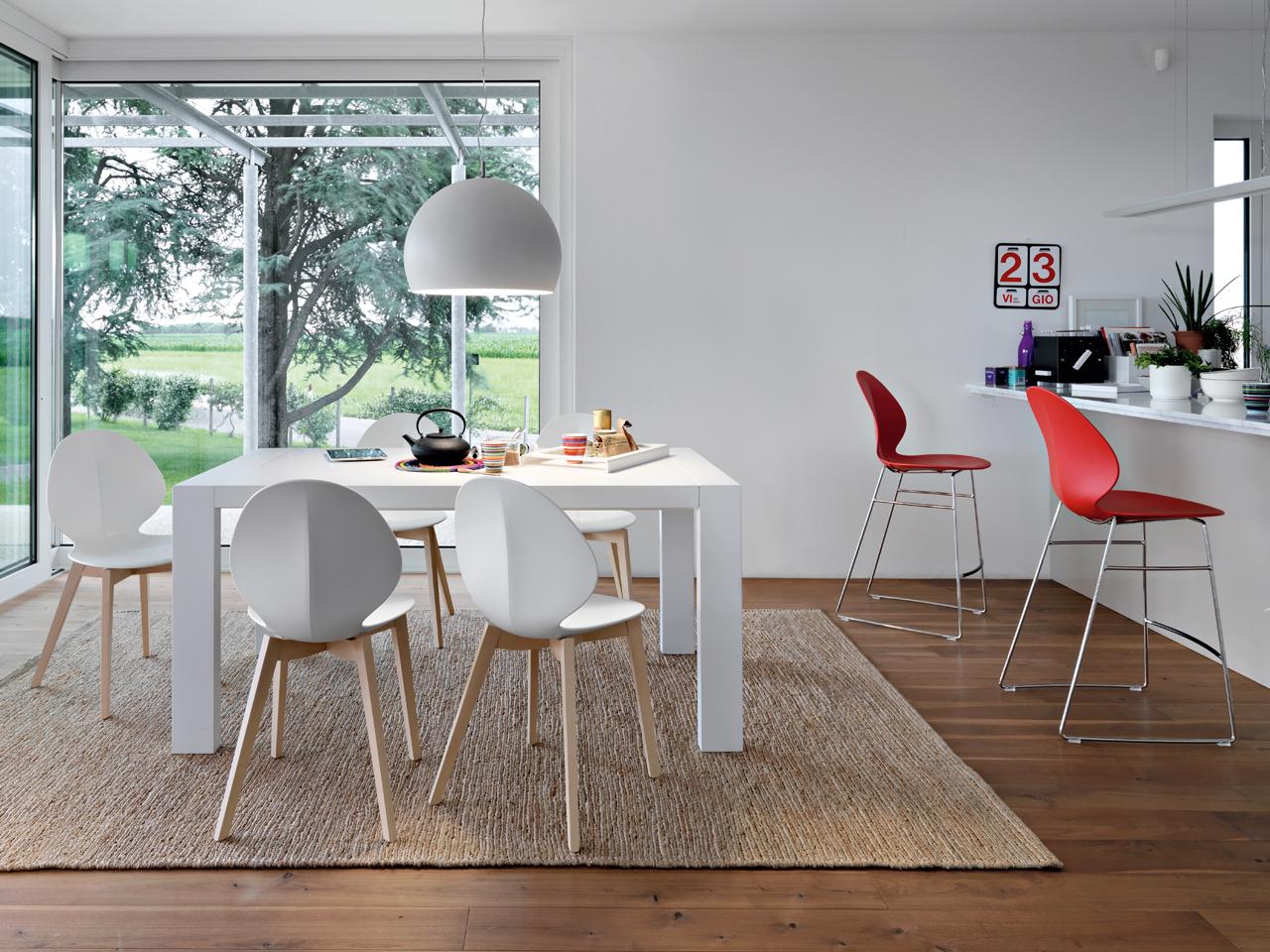 sedie e sgabelli la nuova linea basil di calligaris