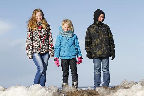 Kruiend ijs Hindeloopen