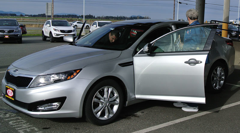 Pat's Kia Optima 1