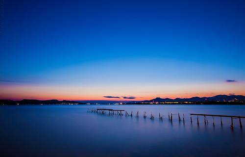 longexposure blue sunset sea orange seascape canon landscape lights published greece scape canonefs1022mmf3545usm aspropyrgos canoneos40d