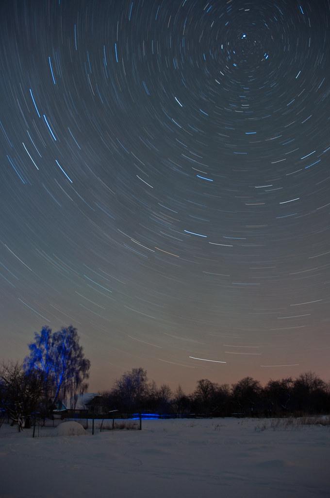 Winter star's path / Зимний путь звёзд
