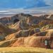 Zabriskie Point at Death Valley by nebulous 1