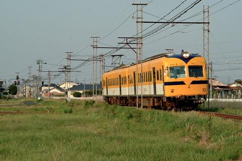 一畑電車が元南海ズームカーを南海カラーに