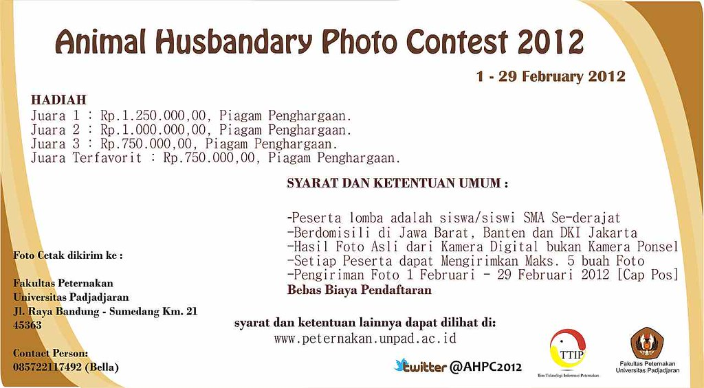 6919396315 5991cf710a b Animal Husbandry Photo Contest