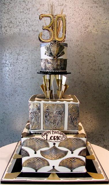 Cake Art N R Colony : Art Deco Birthday Flickr - Photo Sharing!