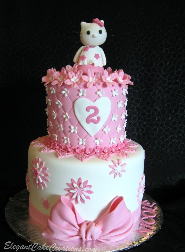 Hello Kitty Cake My Version Of Toni S Design Www Flickr Co Flickr