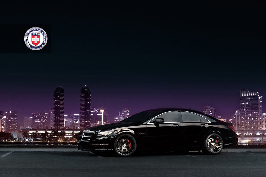 Mercedes Cls 63 Amg On Hre P40sc