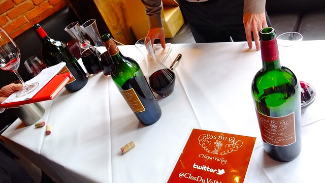 Clos Du Val Wine Tasting | Cork & Fin Restaurant