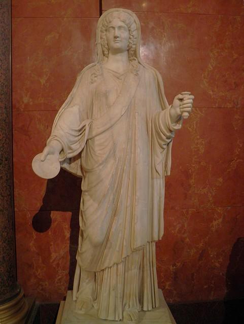 The empress Julia Domna, wife of Septimius Severus, Louvre Museum