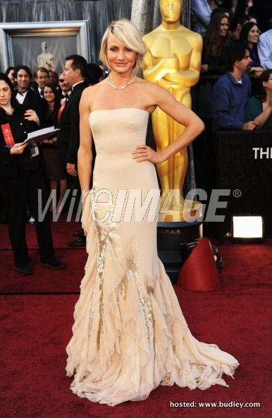 Cameron Diaz in Gucci at #oscars