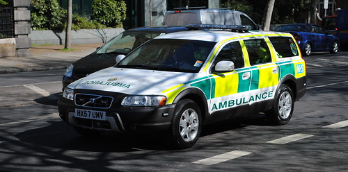 Cardiac Care Unit / Volvo XC70 / Rapid Response Vehicle / HX57 UMV