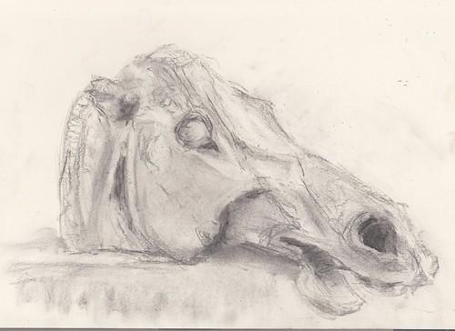 Drawing twenty-five : The Horse of Selene