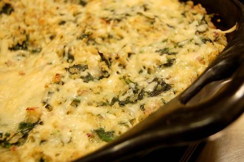 Quinoa Spinach Gratin by Eve Fox, Garden of Eating blog, copyright 2008