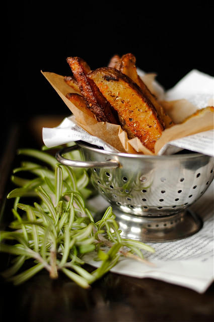 Hand-Cut Baked Parmesan French Fries