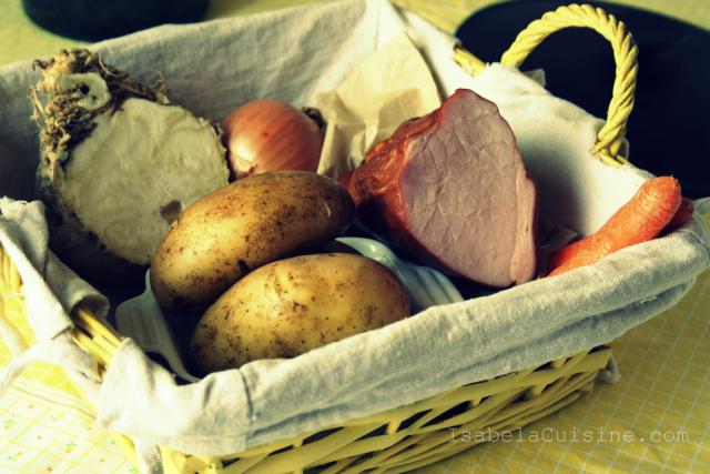 Tocanita de legume cu costita