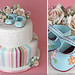 girl baby shower cake  by HeatherBarranco
