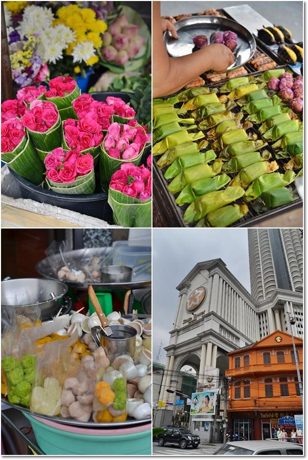 Roses, Grilled Bananas & Desserts @ Bang Rak