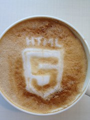 Today's latte, HTML5 again.