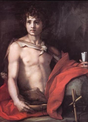 St John the Baptist, Andrea del Sarto, Palatina Gallary, Palazzo Pitti, Firenze