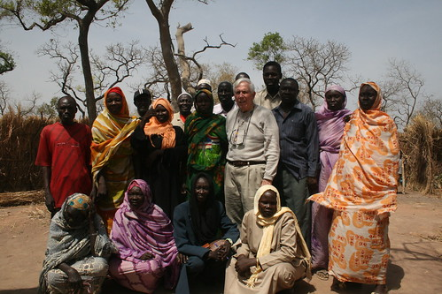 <B>Rep. Frank Wolf meets with refugees at Camp Yida, South Sudan</B>