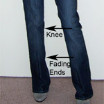 Thumbnail image for Petite Fit Guide: Improper Fit of Regular Size Jeans on a Petite Woman