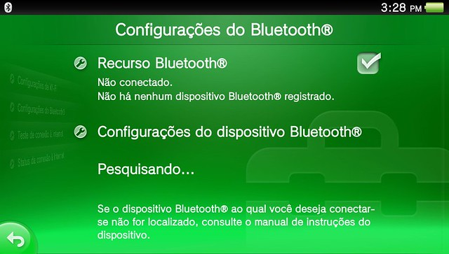 Bluetooth no PS Vita