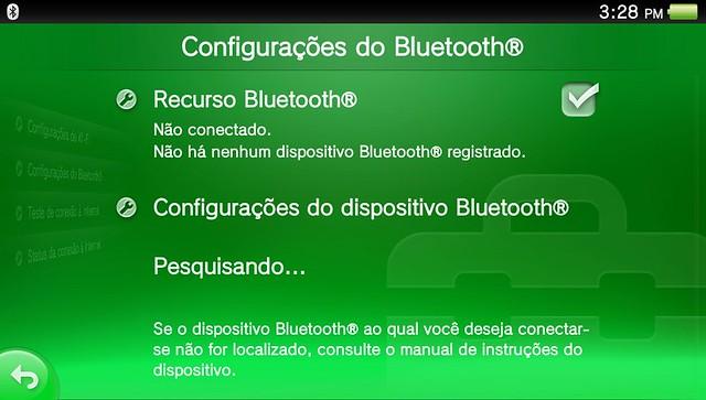 Bluetooth no PS Vita