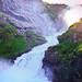Kjosfossen waterfall (from the archive)