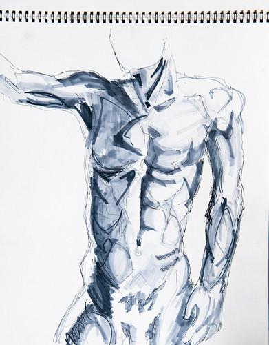 Life Drawing - 03-07-12-6