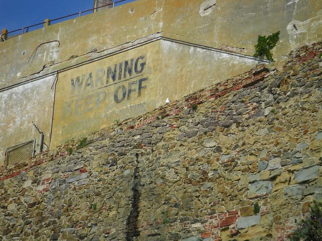 prison structures, Alcatrez Island