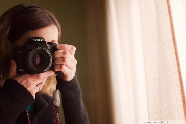 Selfie con cámara