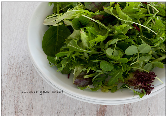 7. classic green salad