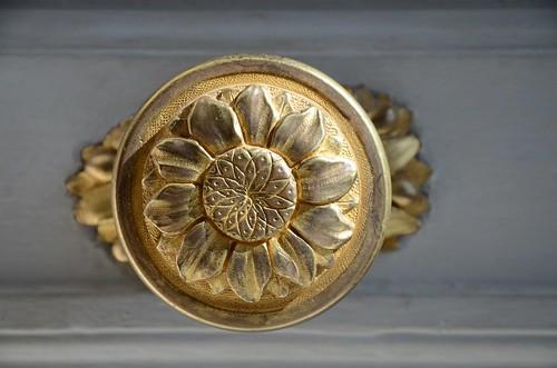17th century doorknob, Petit Trianon, Versailles