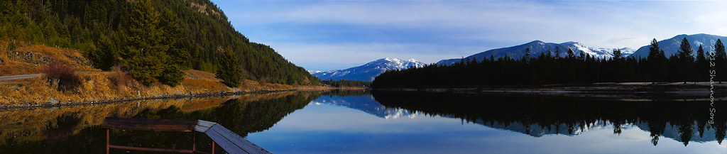 Panoramic Montana Reflections