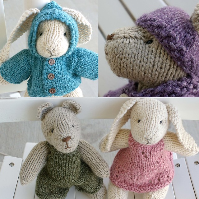 Knitted Bunnies Free Pattern : photo