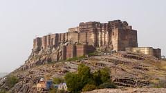 The very impressive Mehrangarh Fort
