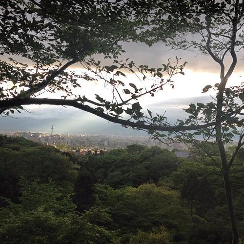 Kyoto desde Kiyumizu-dera #kyoto #japan #japon
